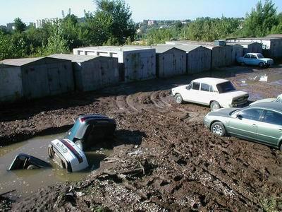 Смешная картинка - русские автостоянки…