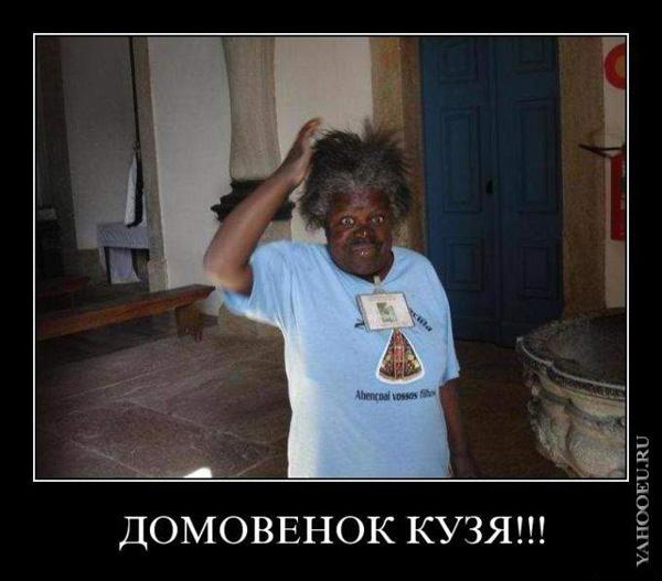 Демотиватор - Домовенок Кузя! :)