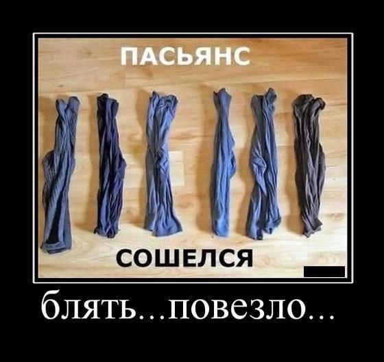 Демотиватор - носки