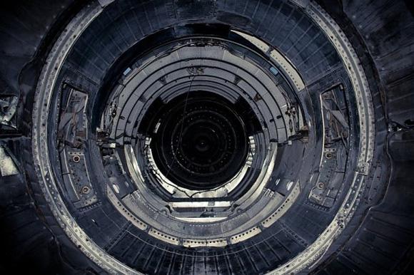 Адронный коллайдер - вид изнутри