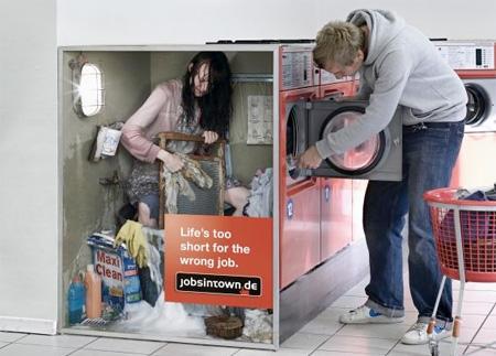 Жизнь слишком коротка для плохой работы - стиральная машина